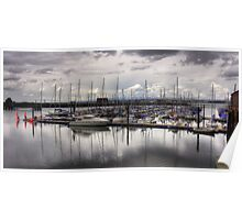 The Marina at South Queensferry Poster
