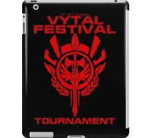 Vytal Fesitval Tournament - Red iPad Case/Skin
