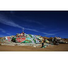 Salvation Mountain Photographic Print