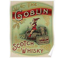 Goblin Scotch Whiskey Poster