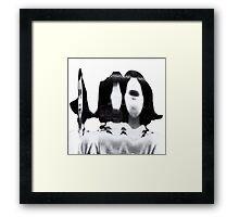 A Frank. Framed Print