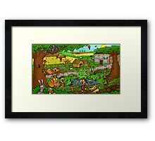 Educational Countryside Image Framed Print