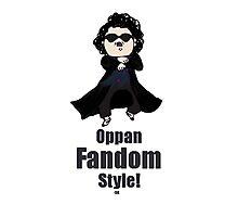 Oppa Sherlock Style! Photographic Print