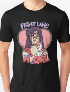 Sailor Moon - Fight Like A Sailor (Sailor Mars) Unisex T-Shirt