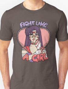 Sailor Moon - Fight Like A Sailor (Sailor Mars) T-Shirt