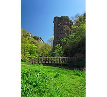 Ilam Rock and Ilam Rock Bridge  Photographic Print