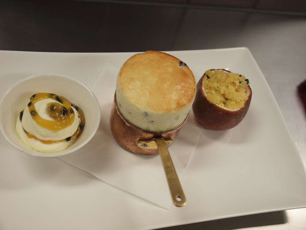 Passionfruit, Gold dish NAC 2012 T BOYDE NSW by Tom McDonnell