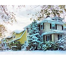 Steely Winter Sky Photographic Print