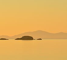 Sound of Raasay from Skye at Sunset by Steve