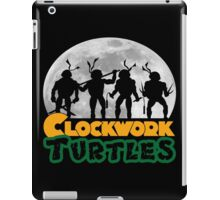 Clockwork turtles iPad Case/Skin