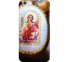 Traditional Russian Wooden Easter Eggs iPhone Case/Skin