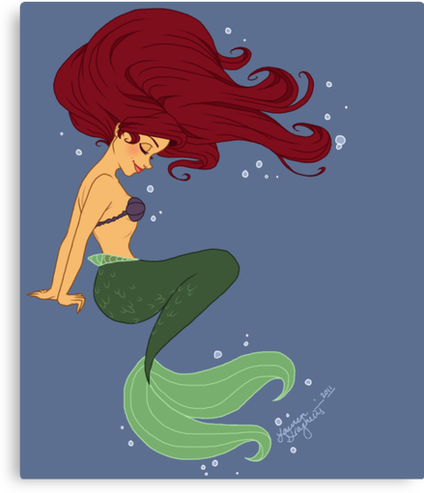 Ariel by Lauren Draghetti
