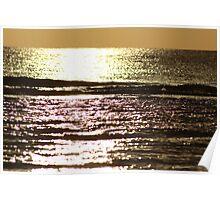 sienna sunset Poster