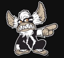 Evil Mogwai in Black by moysche