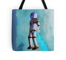 Space Jumping Tote Bag