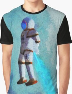 Space Jumping Graphic T-Shirt