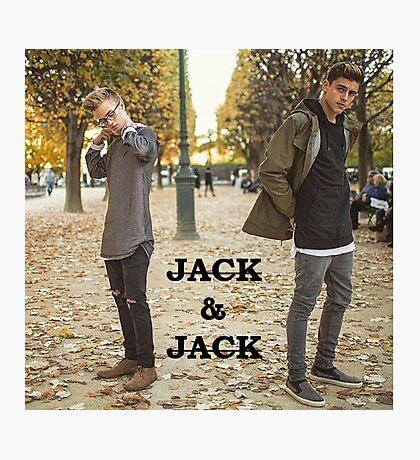 Jack and Jack - Photographic Print