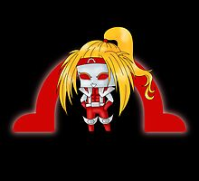 Chibi Omega Red by artwaste