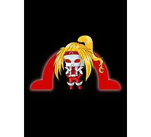 Chibi Omega Red Photographic Print