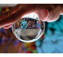 Marbled Graffiti Photographic Print