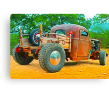 Texas Pickup Canvas Print