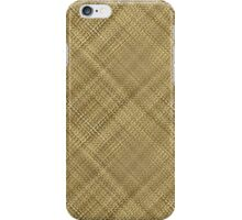 Light Basket Weave iPhone Case/Skin