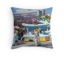 Penguin School  Throw Pillow