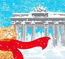Christmas Cat (Tabby) by CarolinaMatthes
