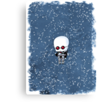 Chibi Mr. Freeze Canvas Print