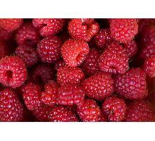 Raspberries Photographic Print