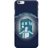 THE GIRLO WHO WAITED  iPhone Case/Skin