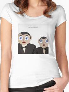 Frank Sidebottom, Actually Women's Fitted Scoop T-Shirt