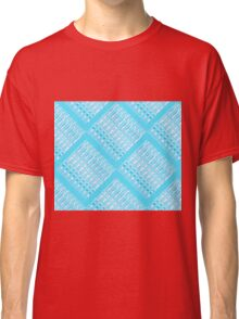 Turquoise Links by Jan Marvin Classic T-Shirt