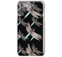 Dragonfly Air Force on Black iPhone Case/Skin