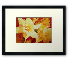 Sunshine on Earth Framed Print