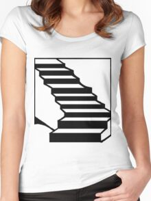 Stairmaster Women's Fitted Scoop T-Shirt