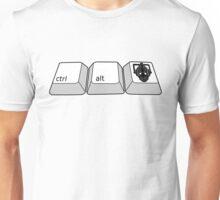 hold ctrl + alt + DELETE!!! Unisex T-Shirt