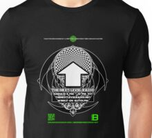 NOV 2012 THE NEXT LEVEL RADIO MERCH CROPCIRMANDALA11 Unisex T-Shirt