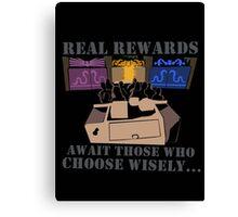 Real Rewards Canvas Print