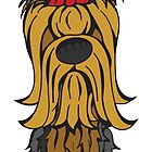 Yorkshire Terrier (Long)  by Angry Squirrel Studio
