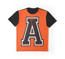 Big Varsity Letter A Graphic T-Shirt