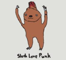 Sloth Love Punk by slothlovelife