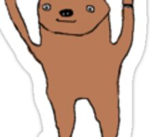 Sloth Love Punk Sticker