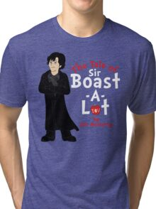 The Tale of Sir Boast-A-Lot Tri-blend T-Shirt