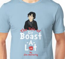 The Tale of Sir Boast-A-Lot (Vertical Variant) Unisex T-Shirt