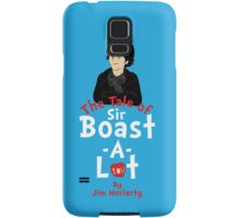 The Tale of Sir Boast-A-Lot (Vertical Variant) Samsung Galaxy Case/Skin