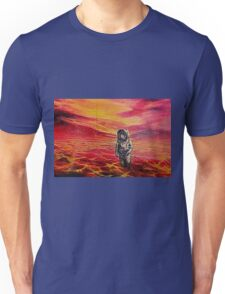 Lost Astronaut on an Alien World Unisex T-Shirt