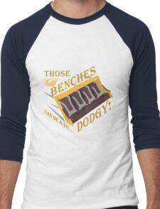 Dodgy Benches Men's Baseball ¾ T-Shirt