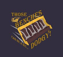 Dodgy Benches Unisex T-Shirt