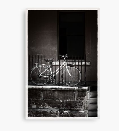 On your bike ... The Rocks  Canvas Print